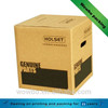 Solid paperboard shipping corrugated carton box with handle hole