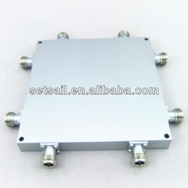 800-2700 MHz N connector 4:4 Port Quad Band rf Hybrid Coupler / Combiner 4x4 high quality