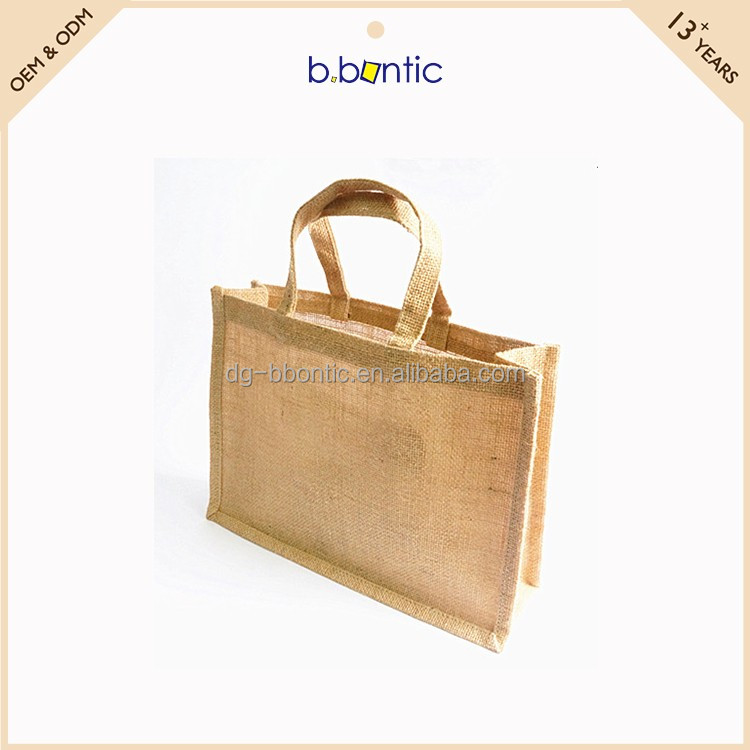 China jute products shopping bags manufacturers