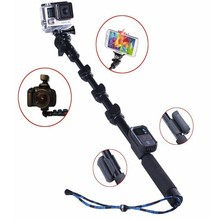 Remote shutter with Extendable Handheld Flexible selfie stick monopod for samsung and for iphone telescopic camera pole
