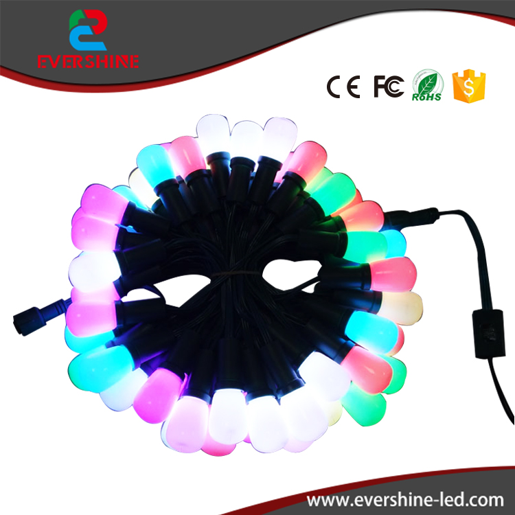F8 RGB DC12V programmable led christmas lights