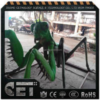 simulation animatronic animals mechanical insects amusement park equipment