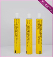 burn ointment aluminium tube/skin burn cream tube/packaging tube for skin burn ointment