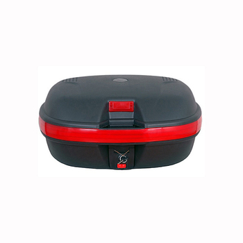 35L Motorcycle Tail Box For 2 Helmets