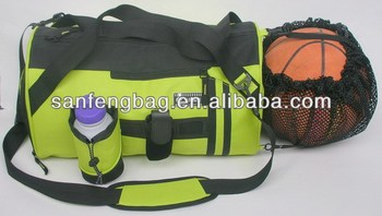 sport bag with ball holder