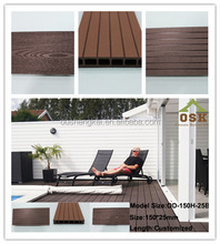 composite decking china wpc flooring outside
