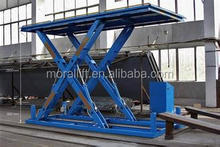 ce manual motorcycle lift/hydraulic scissor table for sale
