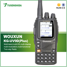 Wouxun KG-UV9D Upgrade KG-UV9D Plus Police Walkie Talkie Used Two Way Radio