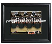 Black Wooden photo frame(2012 new design) hot selling