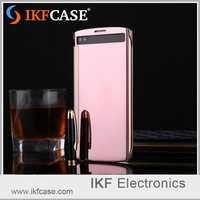 Intelligent smart clear luxury flip mirror phone case for LG G10