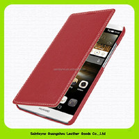 15092 Ultra thin leather cellphone case for Huawei Mate 7, mobile phone case for Huawei Mate 7