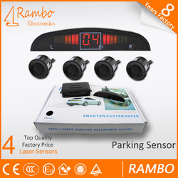 2015 popular flush mount parking sensor & Waterproof and shockproof Car Reversing
