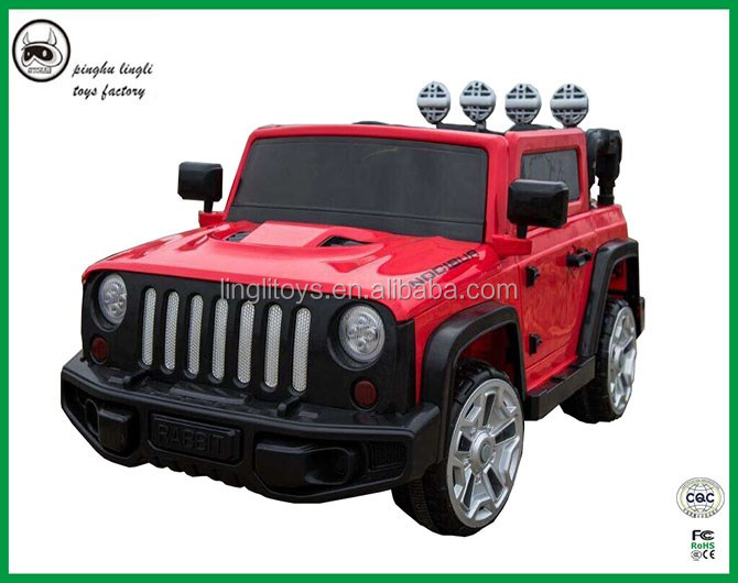 Mini kids jeep car with double drive battery remote controler