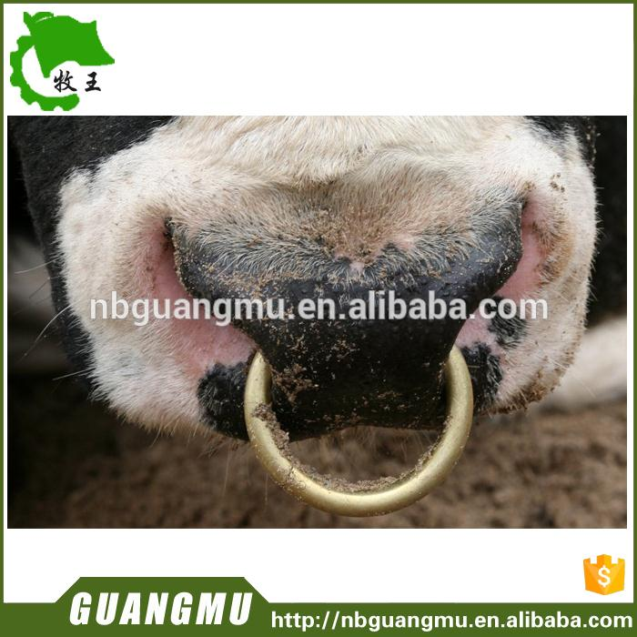 Multifunctional bull nose live center bull nose ring copper with great price