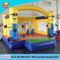 Minion inflatable bounce house/ inflatable minions bouncy castle