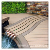 garden wood plastic floor boards laminated wood boards plastic composite board