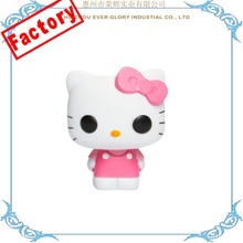 Custom Made Vinyl Hello Kitty Toys Rotocast PVC Figure Toys