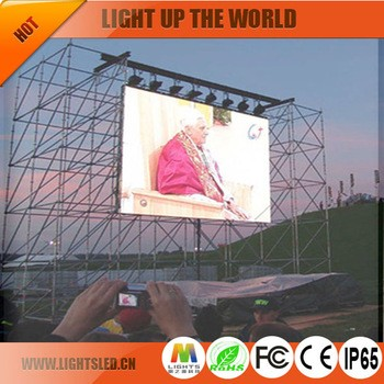 China manufacturer alibaba advertising outdoor full color p12 ali led display With Good Service