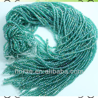 faceted round glass beads 4/6/8mm size are available,crystal glass beads