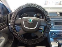 Top product deep dish balck spoke momo steering wheel cover