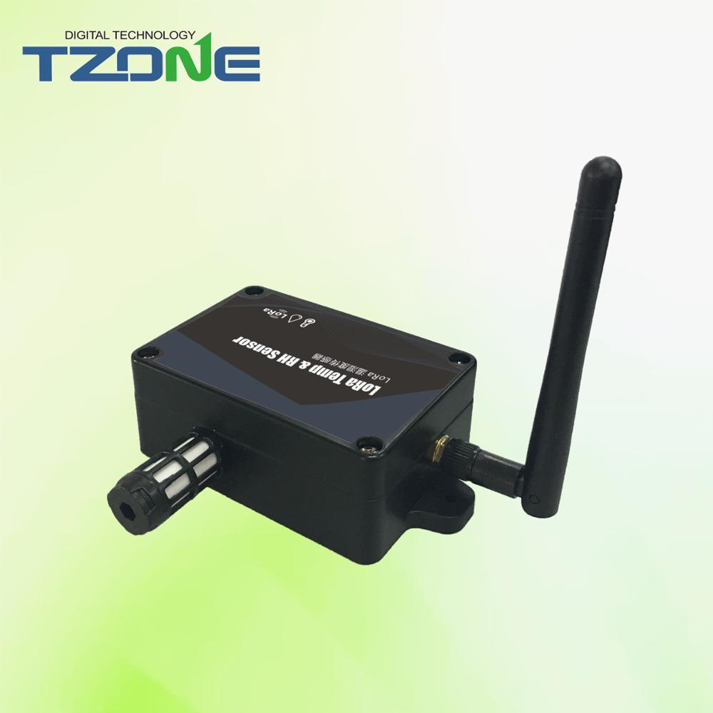 New product lo-ra long distance temperature humidity sensor for greenhouse