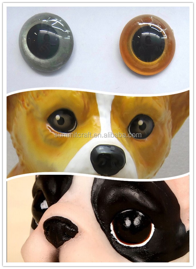 Customized border collie dog firugine resin life size dog statues