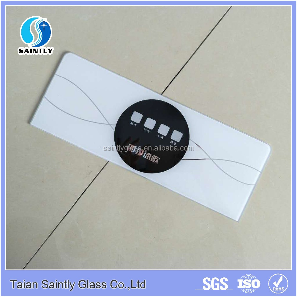 Touch screen printing tempered glass panel for solar energy