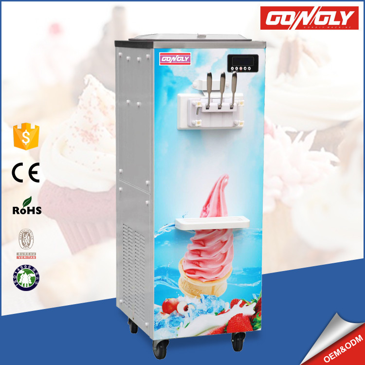 Ice cream making machine commercial ice cream vending machine ice-cream machine