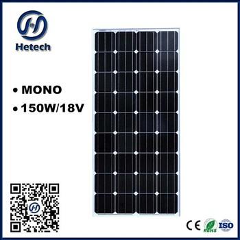solar panel system 150w portable solar panels diy solar panels for home