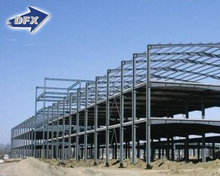 Long-span multi-storey steel structure industrial building for sale