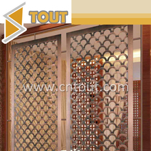 Perforated Laser Cut Outdoor Metal Garden Screens for Decoration