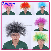 Halloween party wigs, colorful wigs, cheap clown wig