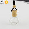Wholesale clear empty glass best car perfume