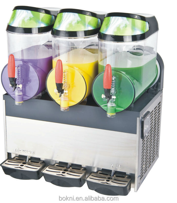 Hot sale BKN-15*3 slush machine frozen drink for commercial application