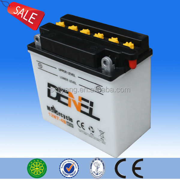 Chinese street bike motorcycle battery for sale