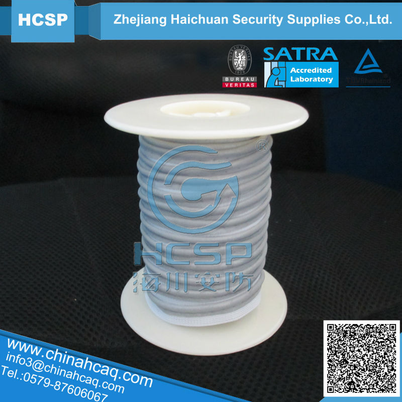 elastic reflective piping tape for garment