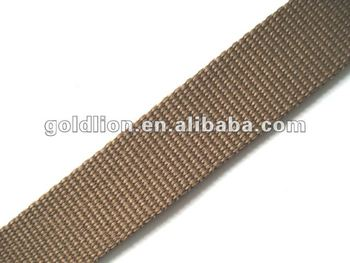100% Recycled PET Narrow Fabric solid webbing tape strap