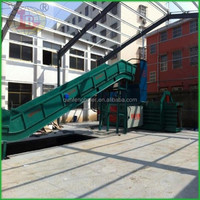 Automatic Horizontal hydraulic cardboard baling press machine for sale