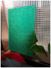 prismatic polycarbonate embossed sheet -latest building materials