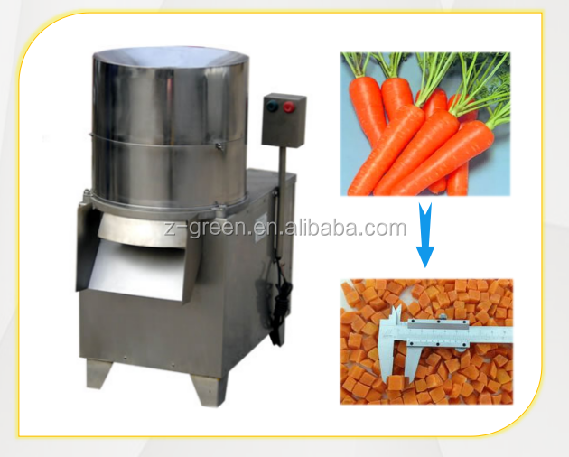 High efficiency vegetable cutter / vegetable slicing machine with factory price