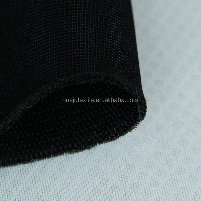 6Mm Polyester 3D Spacer Air Mesh Black Sandwich Mash Fabric For Car