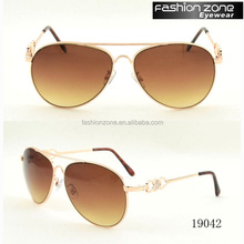 2017 New Vintage orange lens Sunglasses women uv400 Polarized Sunglasses