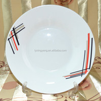 hotel porcelain ware dinner plate Linyi Factory