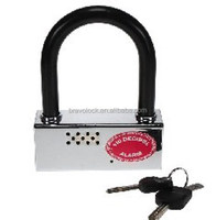 U-type motorcycle alarm lock