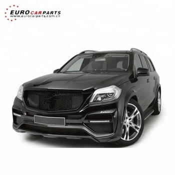 X166 body kits fit for GL-CLASS X166 style GL63 body kits for GL X166