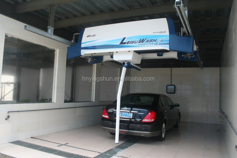 2015 new type non-touch export one arm top sale automatic fully automatic car wash system, mobile automatic car wash machine