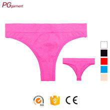 wholesale cheap classical design cotton thong sexy girls t-back seamless underwear womens thong panties