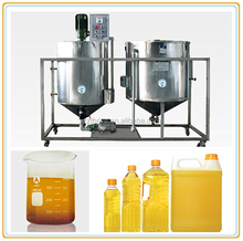 for small-scale oil factory crude degummed soybean oil processing plant