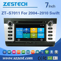 Car DVD Navigation system for Suzuki 2004-2010 Swift with bluetooth, steer wheel control, TV, FM/AM Radio, RDS