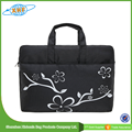 Factory Price New Fashion Black Laptop Bag with Printing